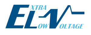 Extra low voltage logo